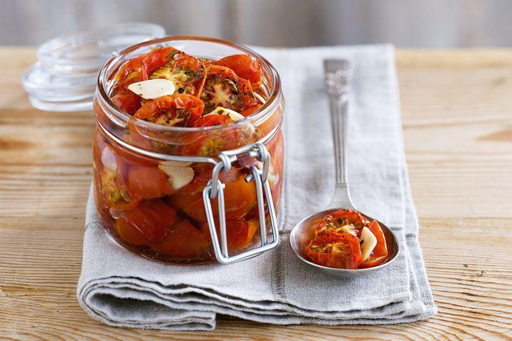 Вяленые помидоры в духовке на зиму рецепты